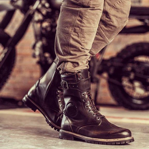 Men's Retro Motorcycle Boots