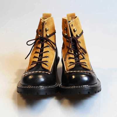 Retro American Motorcycle Riding Ankle