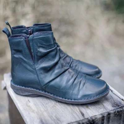 Women Winter Daily Flat Heel Boots