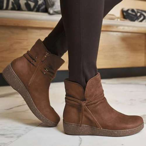 Bowknot Seaside Boots