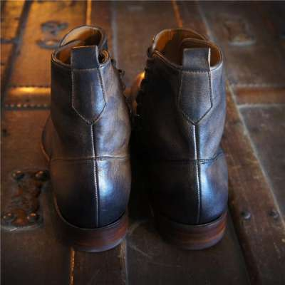 Handcrafted Merganser Button Boot