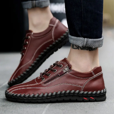 Men's Suture Comfort Flat Shoes