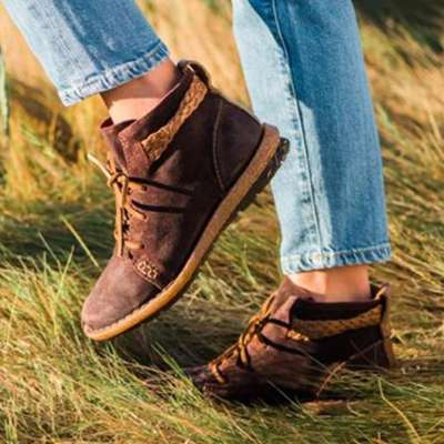 Fall Artificial Leather Boots