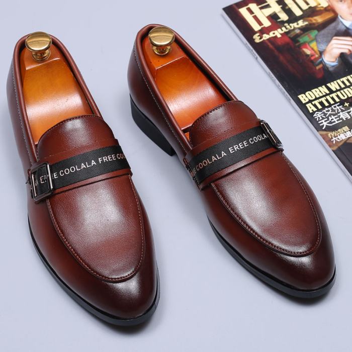 Low-Cut Upper Men's PU Leather Shoes