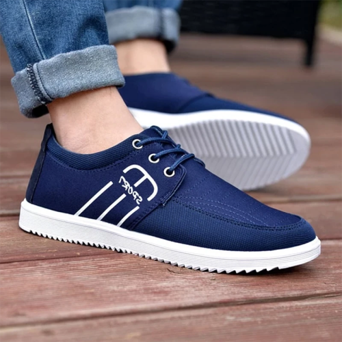 Breathable Canvas Flats Luxury Shoes