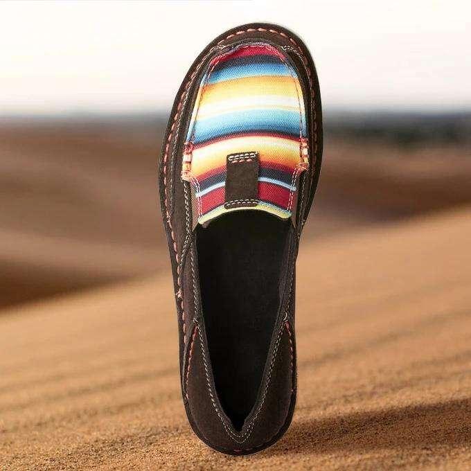 Women's Rainbow Colorblock Loafers