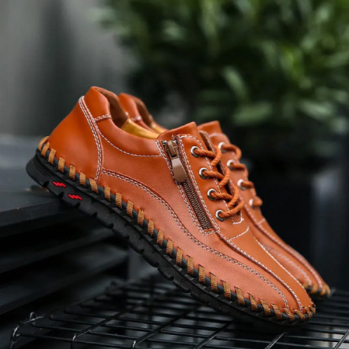 Men's Suture Comfort Flat Shoes