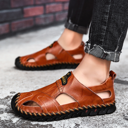 Hand Stitching Genuine leather Outdoor Sandals