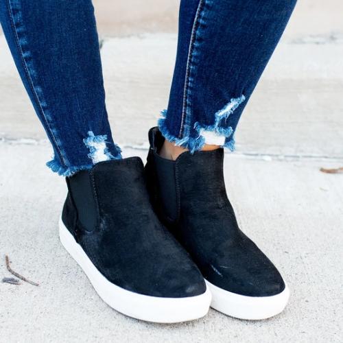 Very G Tesoro Flat Heel Boots