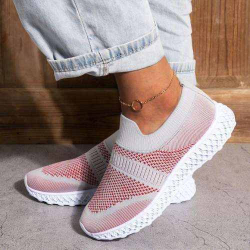 Fabric All Seasons Sports Sneakers