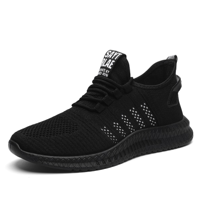 Men's Sports Fashion Shoes Breathable Lacing Trendy Casual Shoes