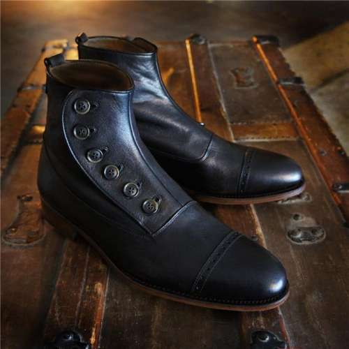Handcrafted Merganser Button Boot