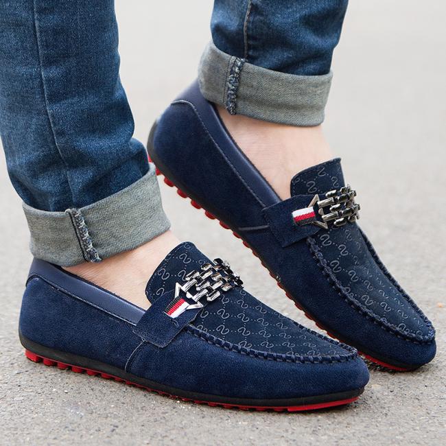 Men Breathable Massage Loafer Trendy Shoes