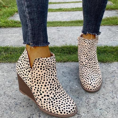 Platform Ladies Autumn Winter Vintage Martin Boots