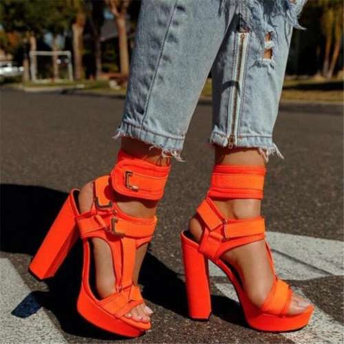 Fashion High Heel Summer Sandals