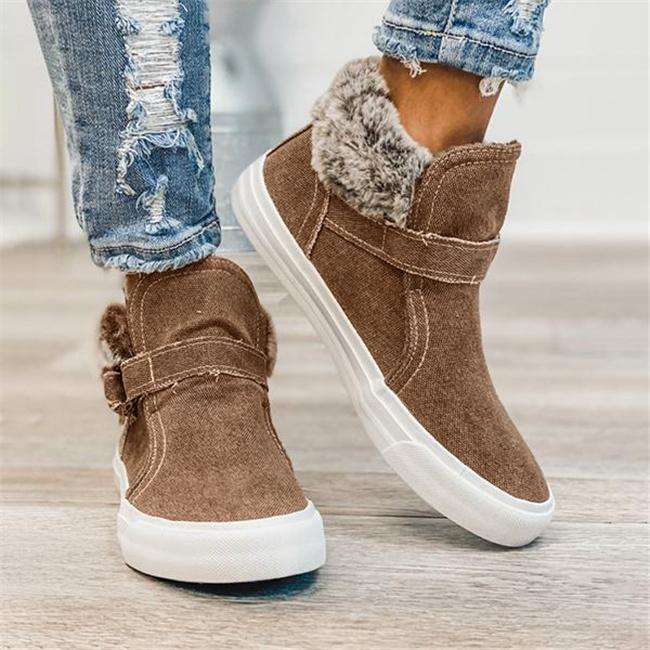 Buckle High Top Boots