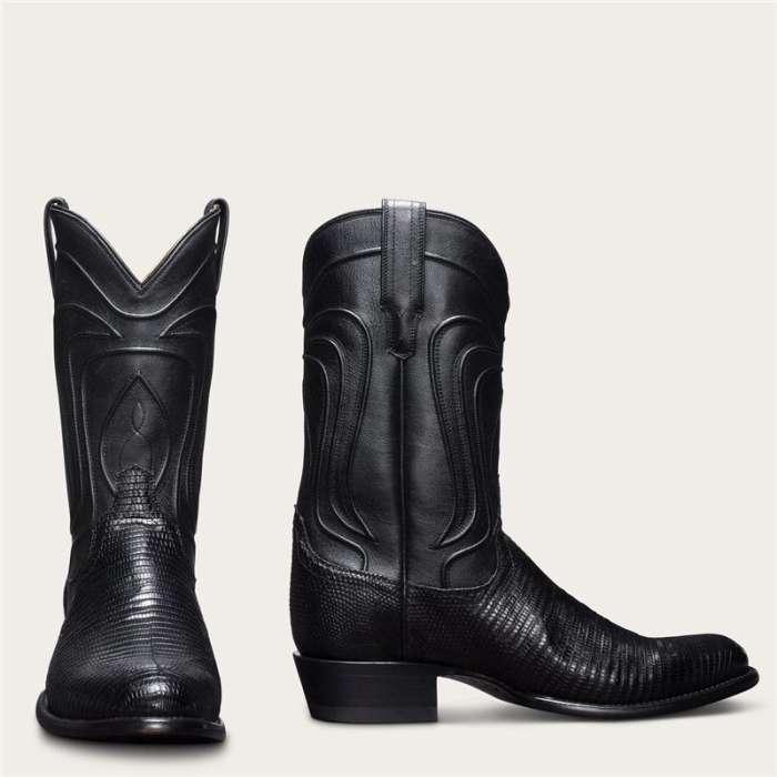 Men's Lizard Skin Cowboy Boots - Exotic Western Boot
