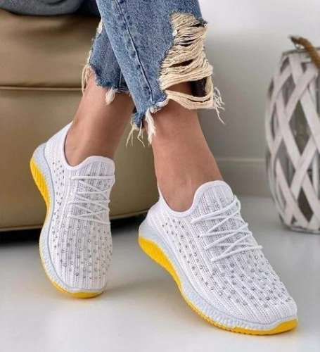All Season Rhinestone Sneakers