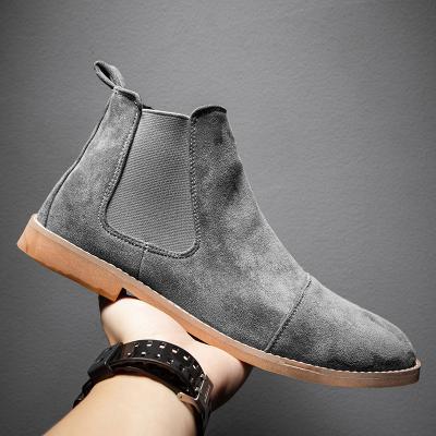 Mens Handmade Suede Formal Shoes