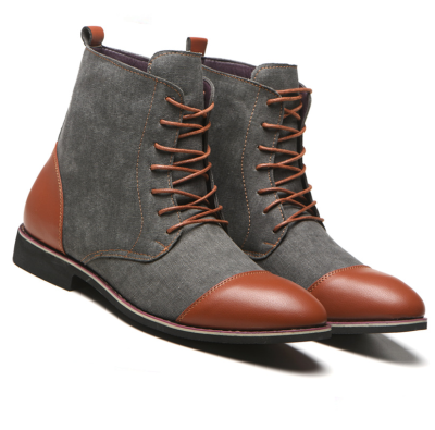 Oxfords Fashion Leather Boots