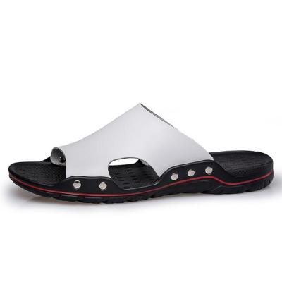 Men's Summer Flat Sandals Casual Beach Flip Flops Shoes Non-slip Slippers