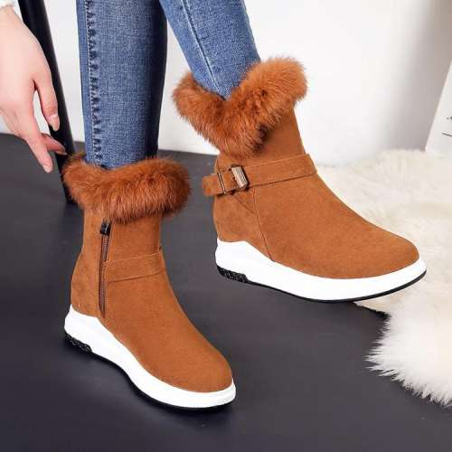 Women Fur Winter Snow Boots