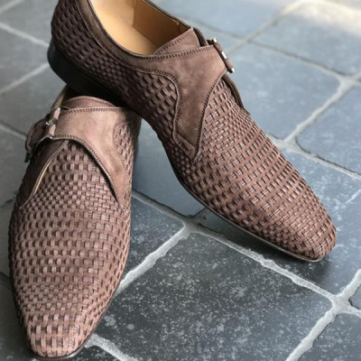 Faux Leather Flat Shoes