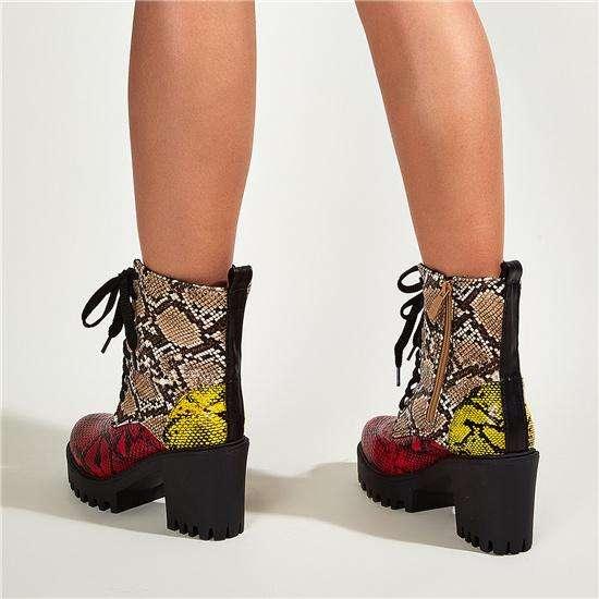 NEW! Buckle Fashion Martin Boots