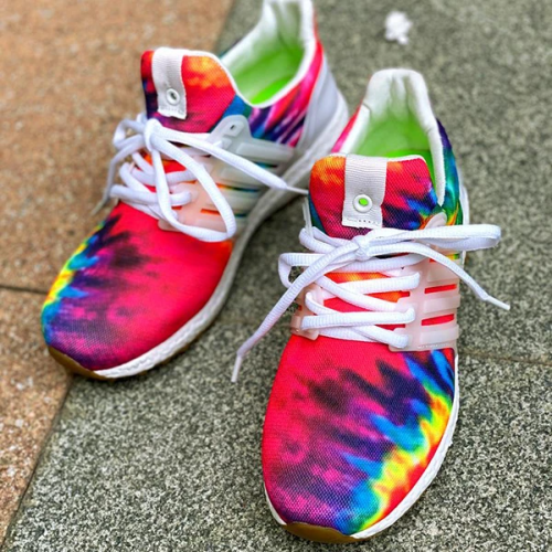 Graffiti Cute Casual Running Sneakers