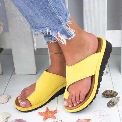*Women Comfy Platform Sandal Shoes