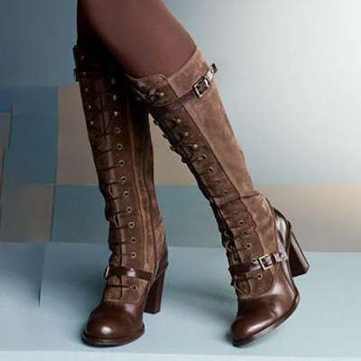 Women's Vintage Lolita Style Boots