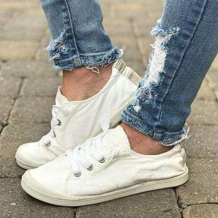 *Women Canvas Sneakers Casual Comfort Lace Up Shoes
