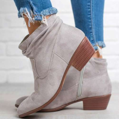 *Walking On A Cloud Ankle Booties