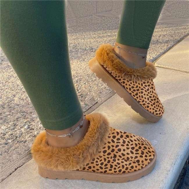 Christmas Sale! Winter Fur Comfy Sole Boots