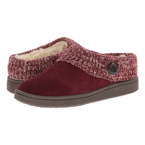 Women Warmth Artificial Suede Slip On Cotton Boots