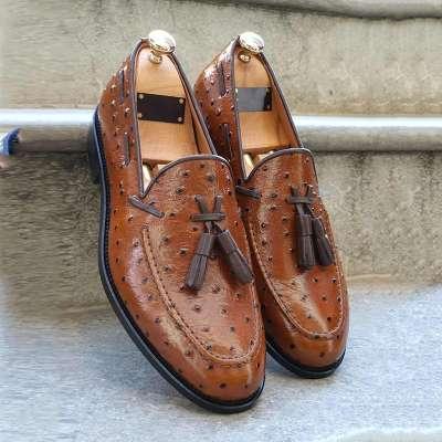 Men Bellingham Brown/black Tassel Loafer
