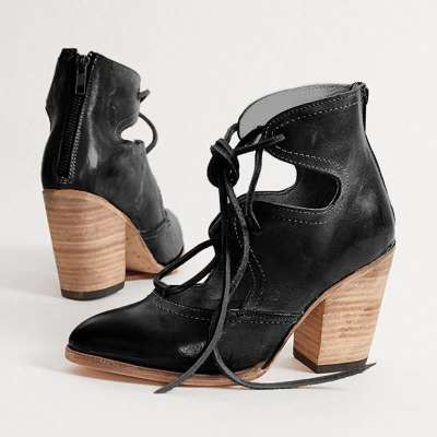 Non-Slip Thick Heel Women's Sandals