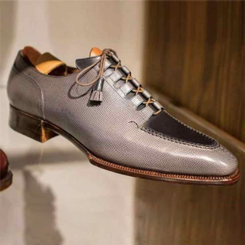 Men's Faux Leather Formal Dress Shoes