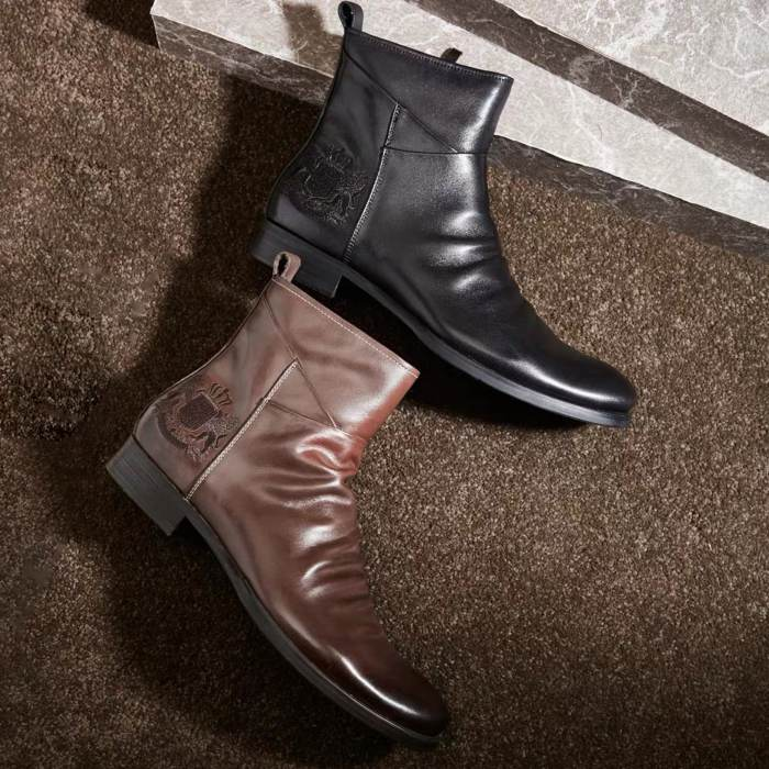 Men'S Handmade Leather Boots