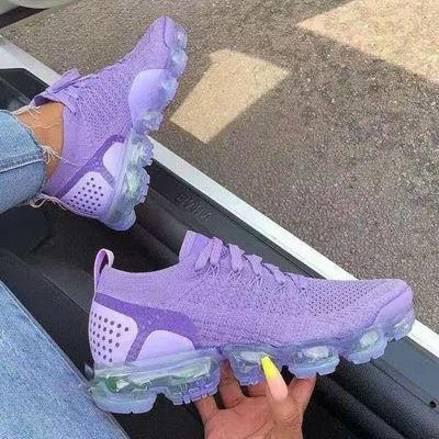 Women Round Toe Pu All Season Sneakers