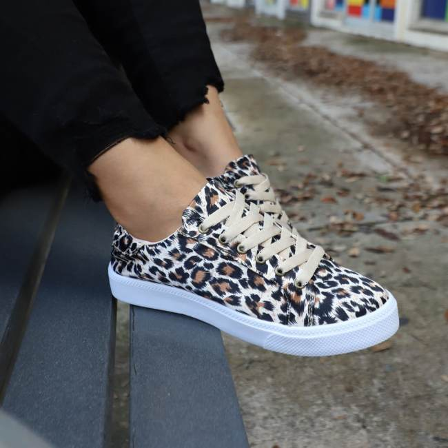 Adorable Lace Up Sneakers