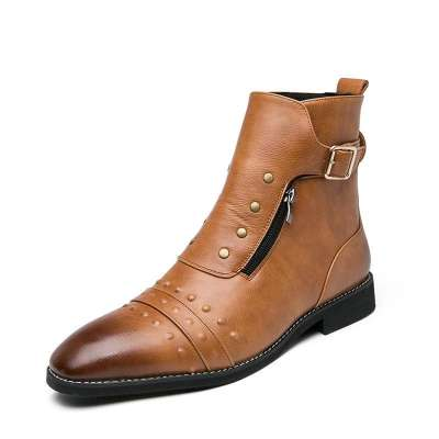 Casual British style Martin boots for men