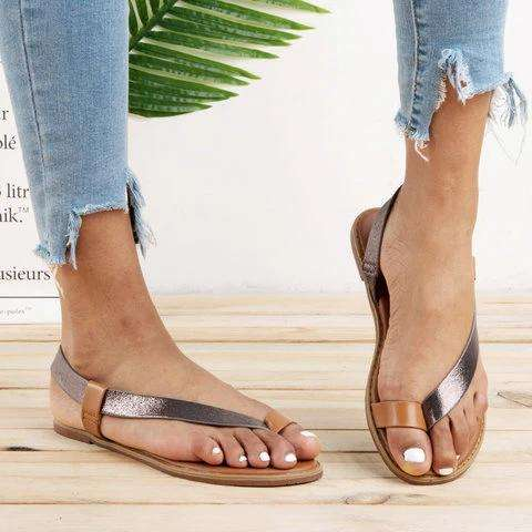 Roman Flat Heel Daily Sandals
