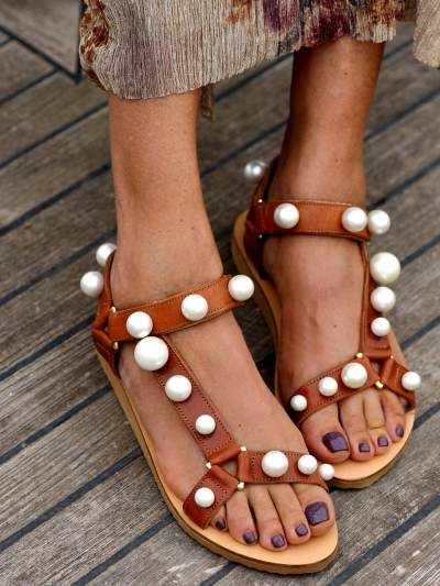 Womens Fashion Flat Sandals