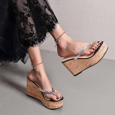 Women's Flip-Flops Wedge Heel Slippers