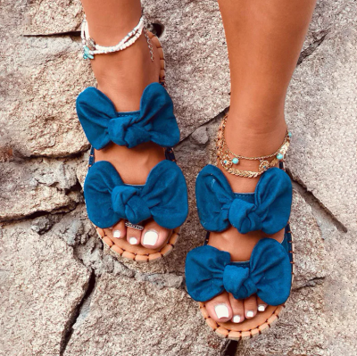 Women Beach Slippers Casual Toe Shoes