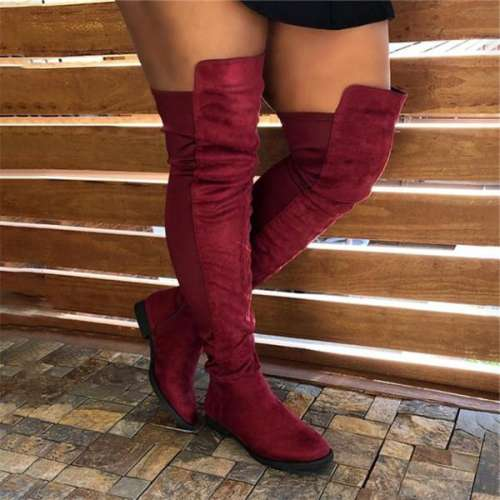Women's Fashion Over The Knee Boots