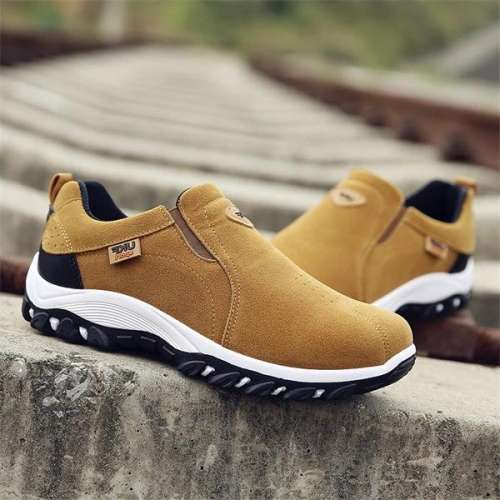 Men Outdoor Slip On Resistant Antiskid Sneakers
