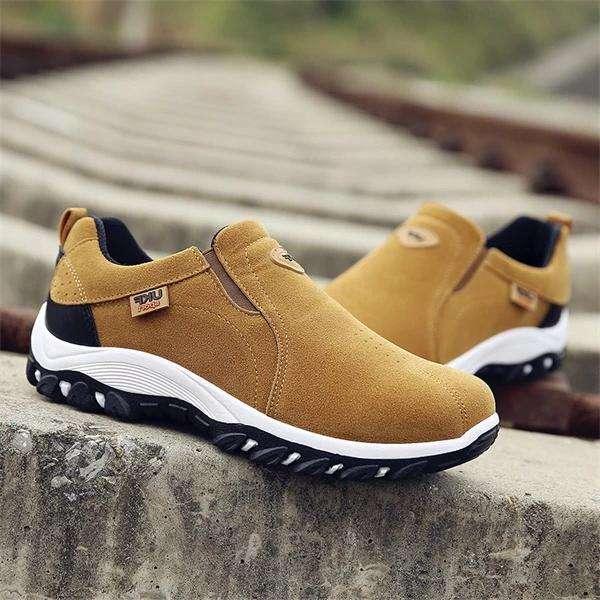 Men Outdoor Slip On Resistant Antiskid Sneakers
