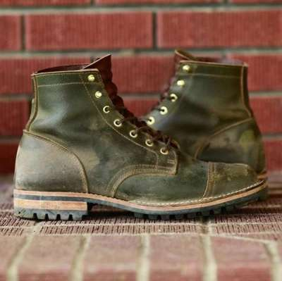 Mens PU Leather Boots